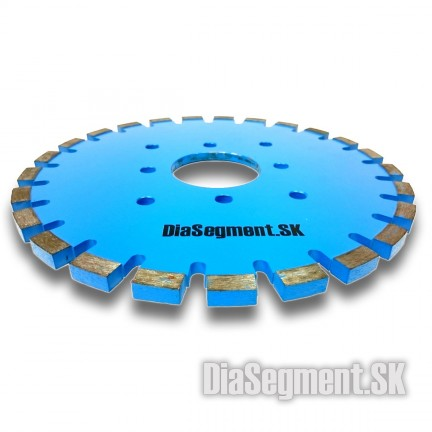 Grooving and shaping disc, 300 x 10 mm