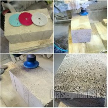 The flexible polishing disc 3-STEP CONCRETE, 100-125-150-180 mm