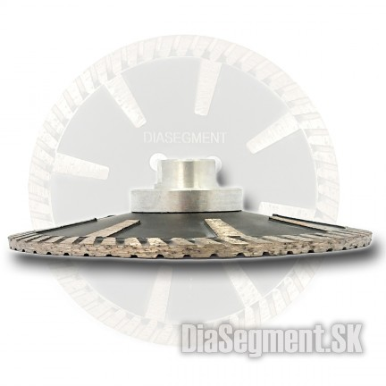 Sanding - cutting disc for stone CONVEX M14, 125mm