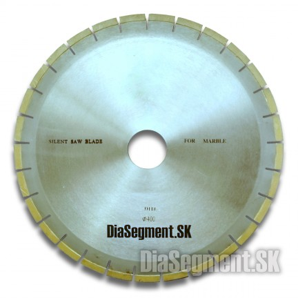 Cutting blade for marble, a segment 10 mm